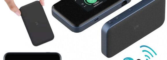 Roteador Portátil ZTE MU5001 5G para Levar a Internet no Bolso