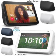 Os Novos Echo Show 5 e Echo Show 8 Chegaram Oficialmente no Brasil