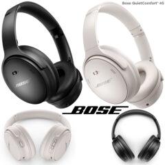 Fones de Ouvido Bose QuietComfort 45 com 24 Horas de Bateria e Qualidade Superior