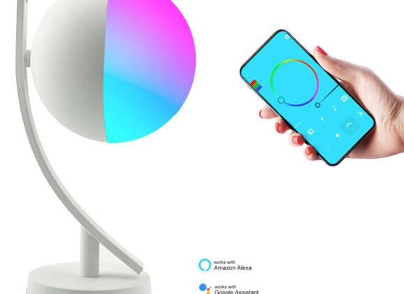 Luminária de Mesa Inteligente Newstyle RGB Smart com Design Diferente