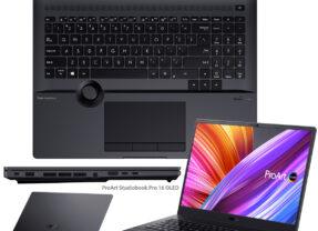 Notebook Asus ProArt StudioBook Pro 16 com Tela OLED