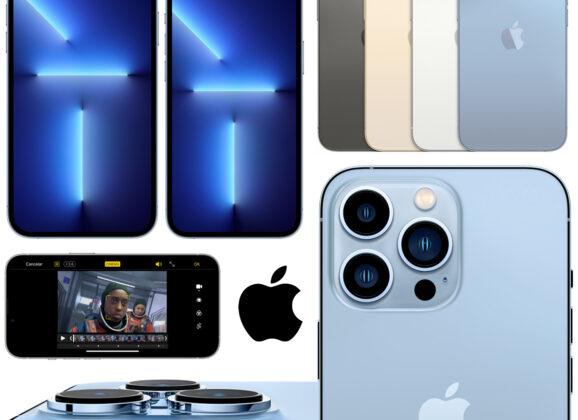 iPhone 13 Pro e iPhone 13 Pro Max, os Novos Topo de Linha da Apple