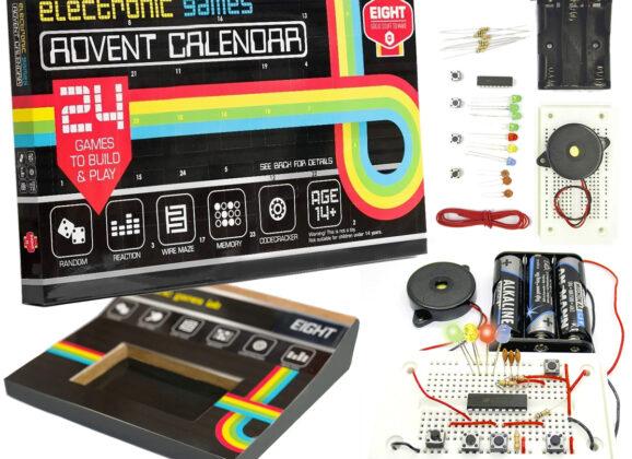 Calendário do Advento com 24 Jogos Eletrônicos
