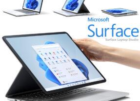 Microsoft Surface Laptop Studio se Transforma de Notebook em Tablet