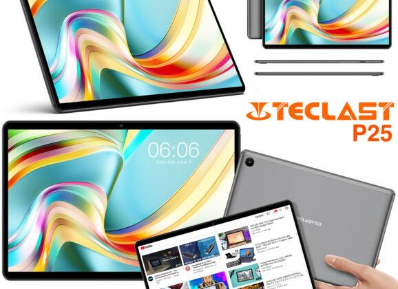 Tablet Teclast P25 com Tela de 10 Polegadas e Preço Camarada