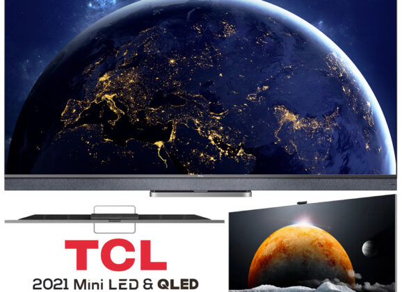Televisão TCL Mini LED + QLED 4K C825 com Google TV no Brasil