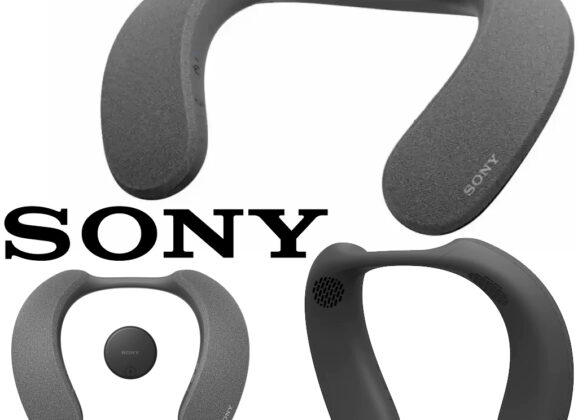 Caixa de Som Sony SRS-NS7 Wireless Neckband com Dolby Atmos