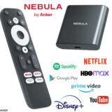 Anker Nebula 4K Dongle TV Stick para Streaming de Alta Qualidade