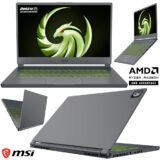 Laptop MSI Delta 15 AMD Advantage Edition Projetado para Games