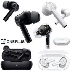 Fone de Ouvido OnePlus Buds Z2 com 38 Horas de Bateria e 40db de Cancelamento de Ruídos