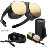 Vive Flow VR Headset da HTC com design de óculos de sol